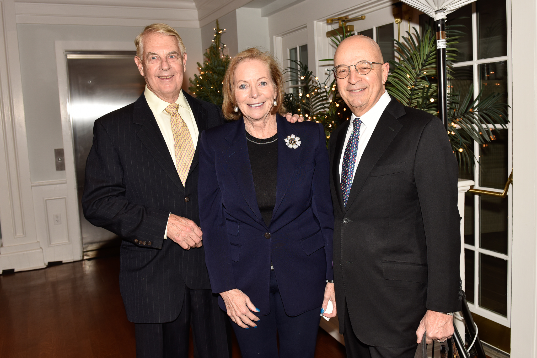 John and Patricia Chadwick, Jan Rogers Kniffen