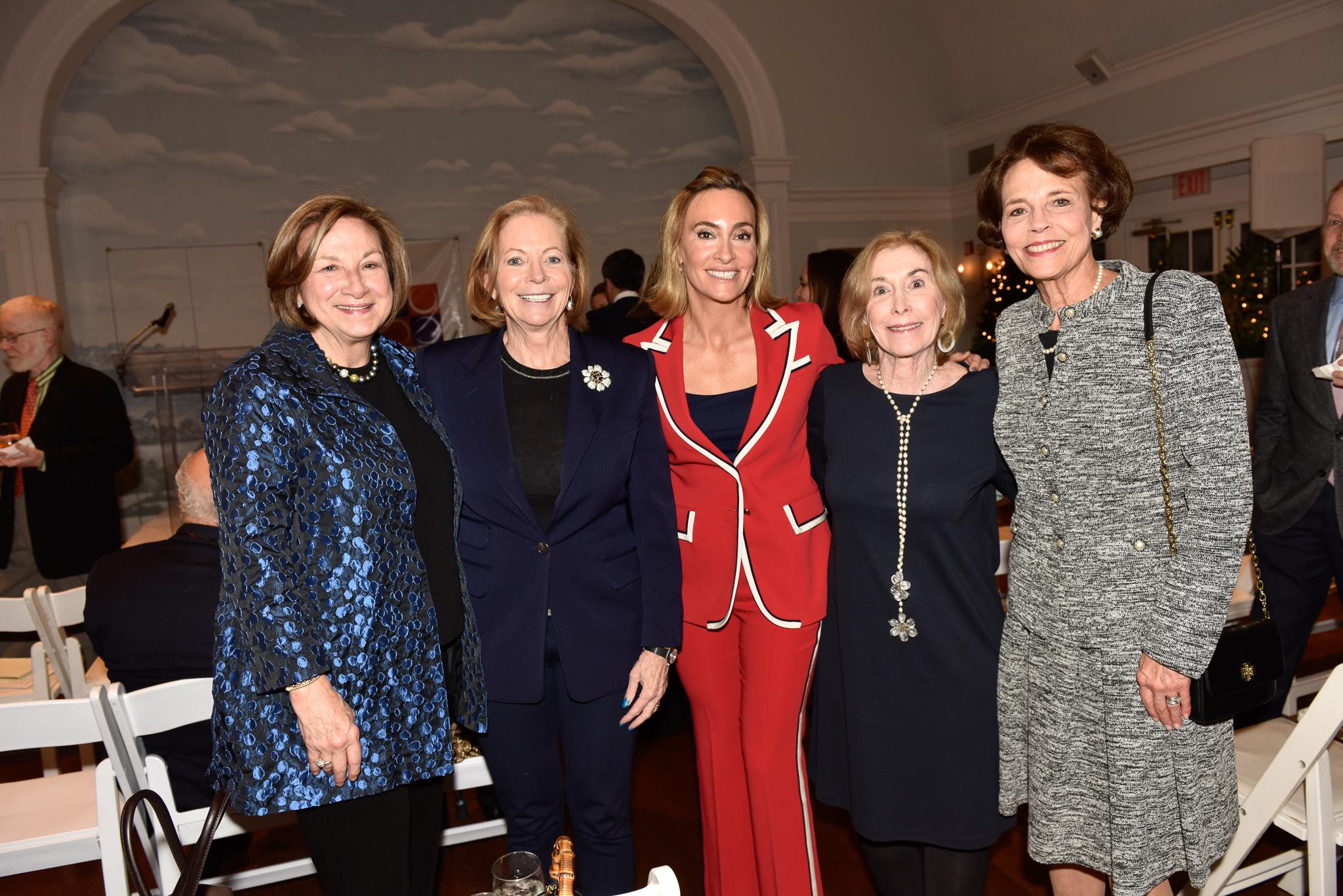 Susan Mahoney, Patricia Chadwick, Kathy Georgas, Leah Rukeyser, Cricket Lockhart