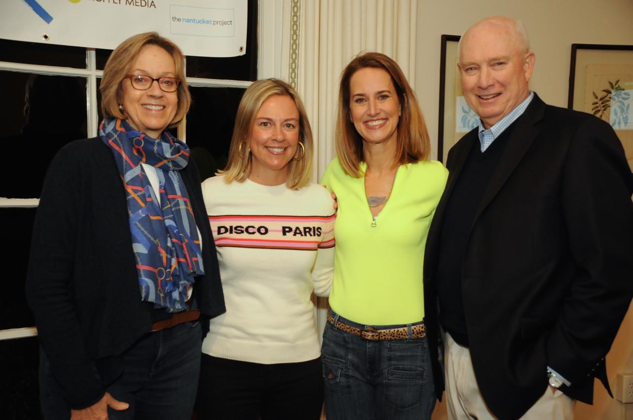 State Rep. Terrie Wood, Melissa Cutler, Kesti Aysseh, Jay Wood