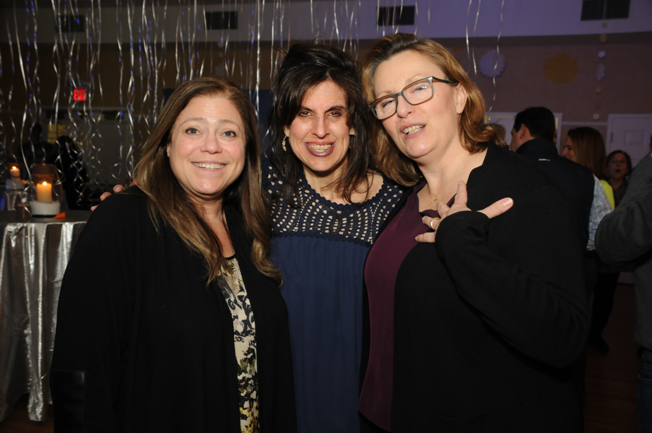Robin Seymour, Joyce Sixsmith, Liz Jorgensen