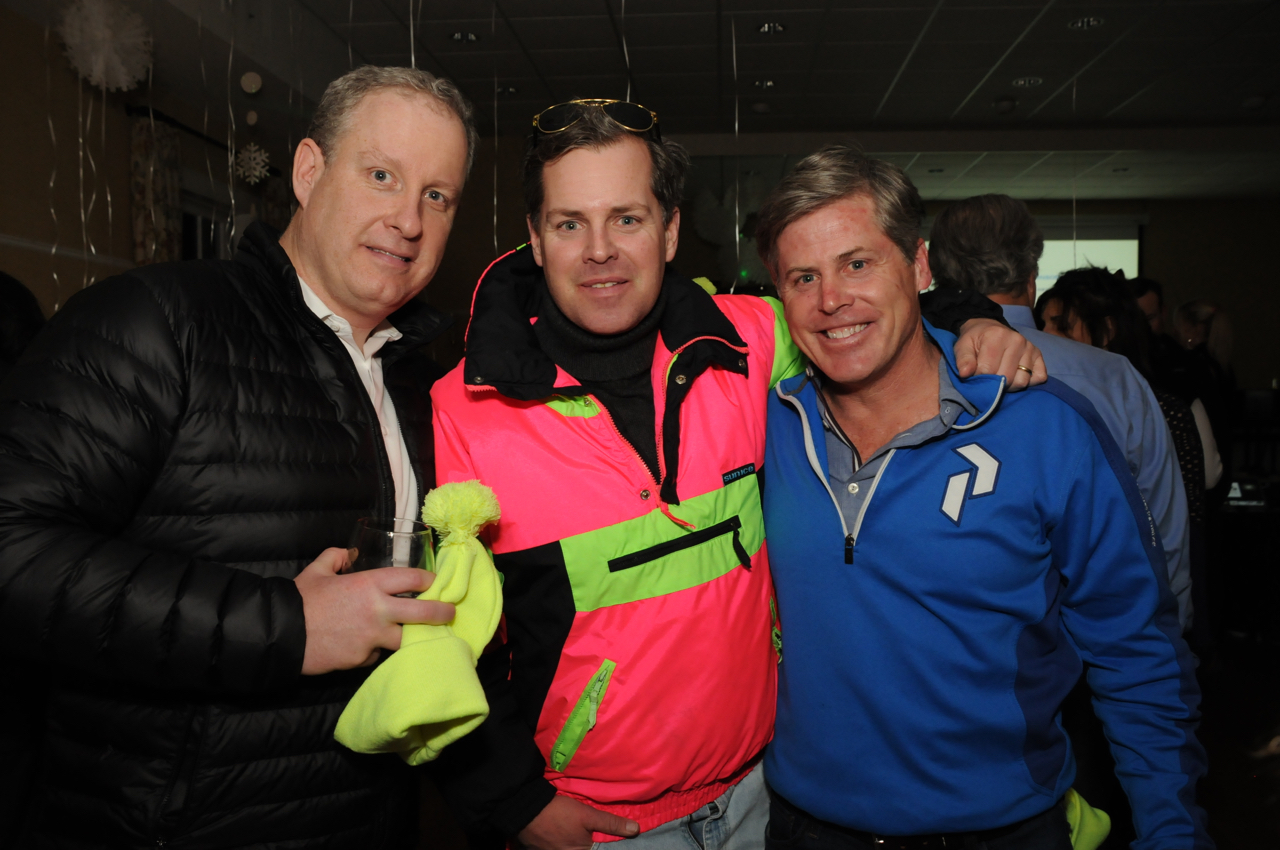 Don McCarthy, Paul Bremer, Tom Arrix