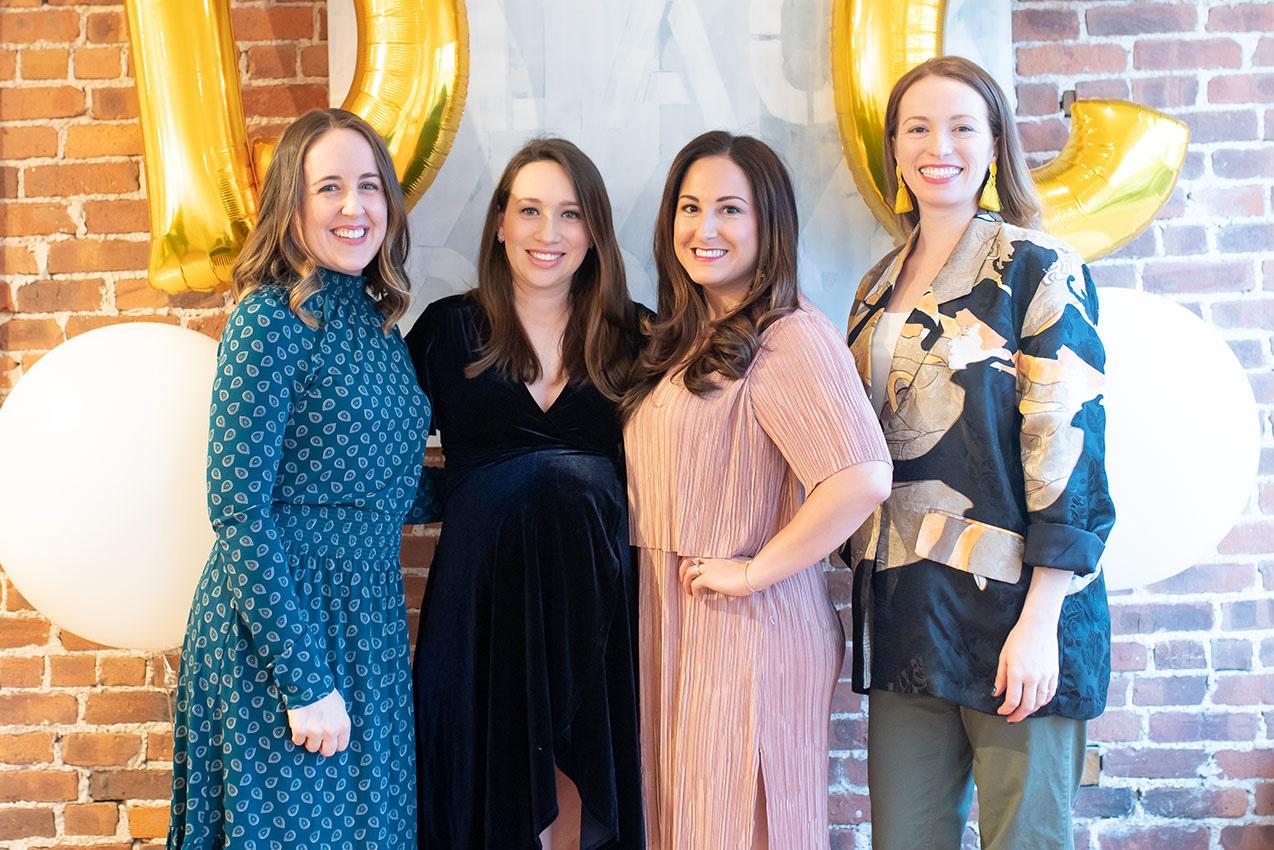 Meghan Doody, Stephanie Purzychi, Andrea Viscuso, Diane Rath