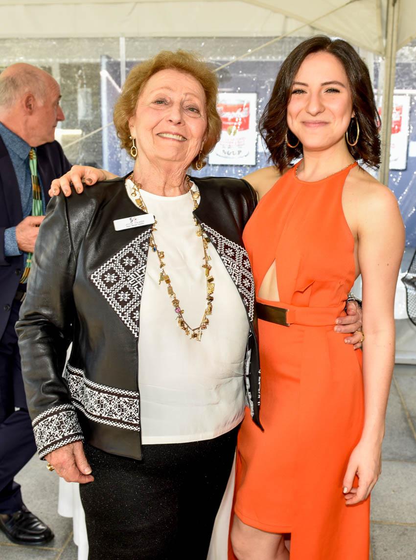 Joyce and Michelle Pauker