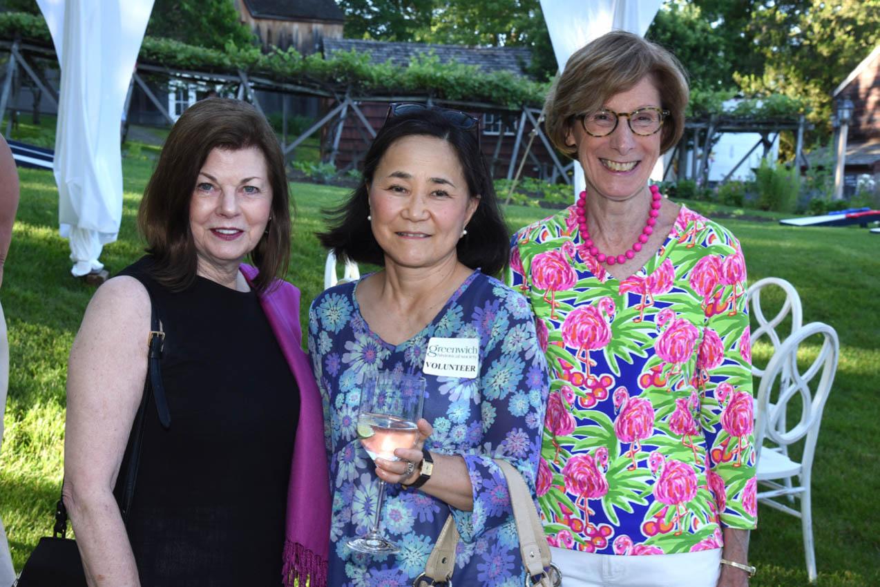 Bea Crumbine, Yuka Kominami, Virginia Cheney