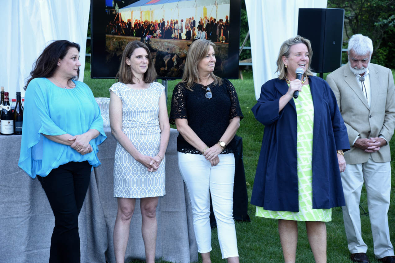 Karen Schulz, Ali Ghiorse, Jennifer Bonnette, Susan Watson Scully (Speaking)