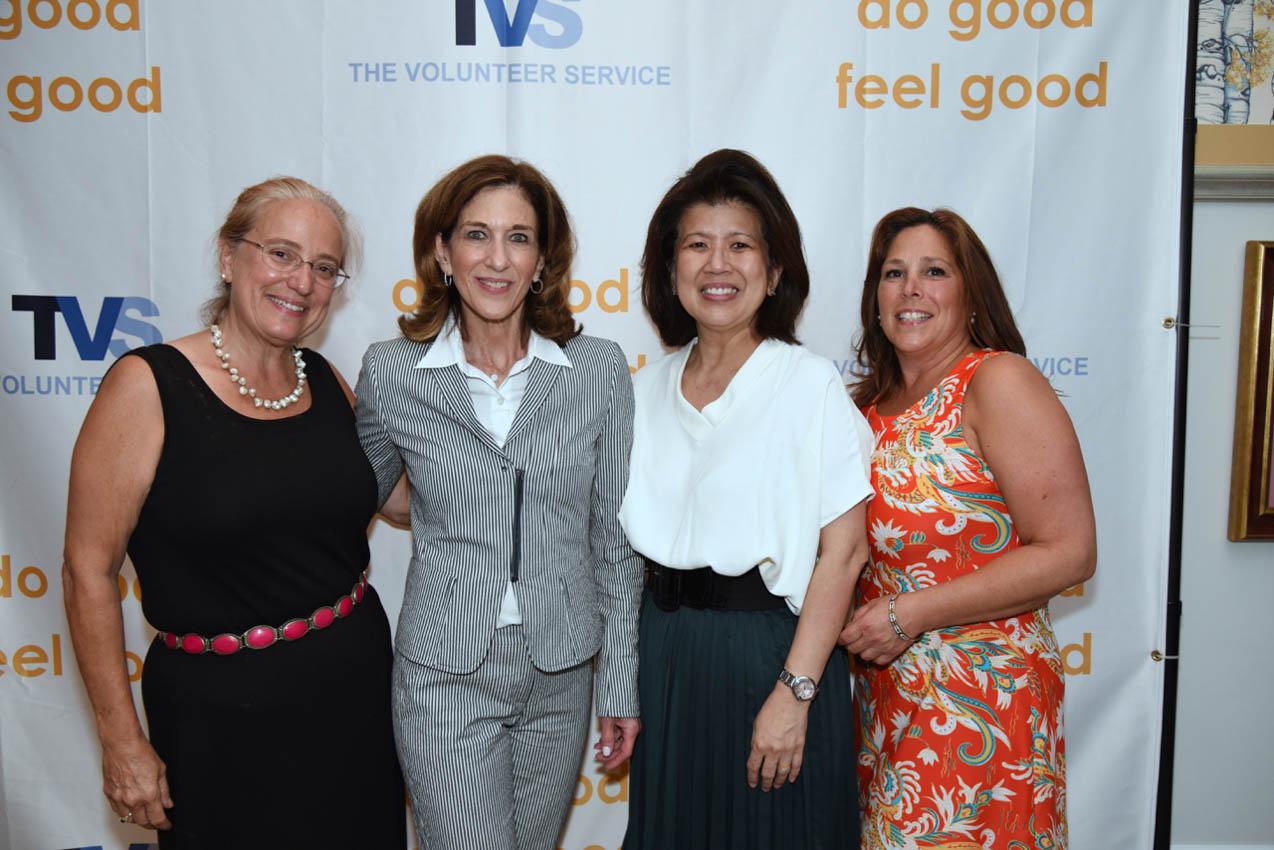 Joan Stewart Pratt, Debra Miron, Kathy Sio, Joanne Cavalier