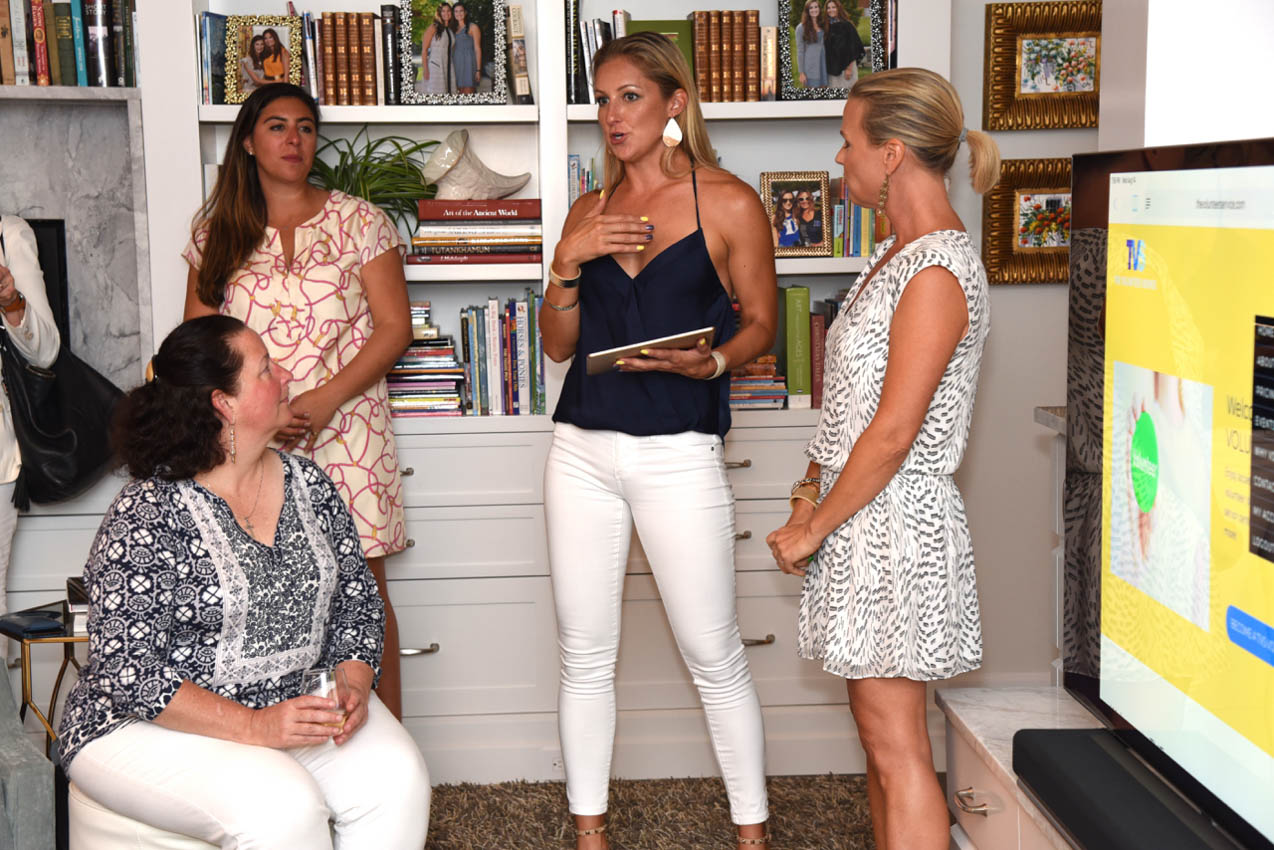 Beth Barhydt, Hadley Mongell, Anne Franscioni, Heather Woodbridge