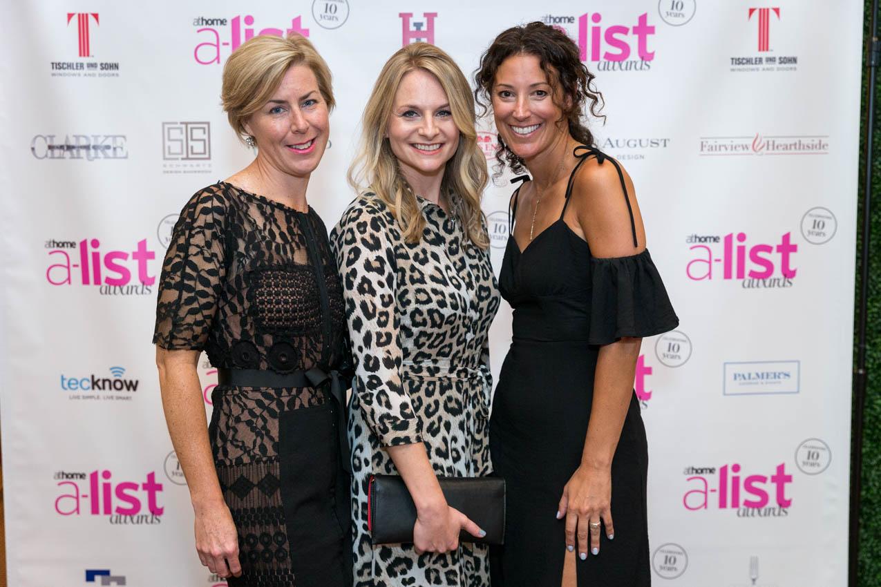 Liz Sommer, Anna Mailloux, Christi Blad representing Marvin