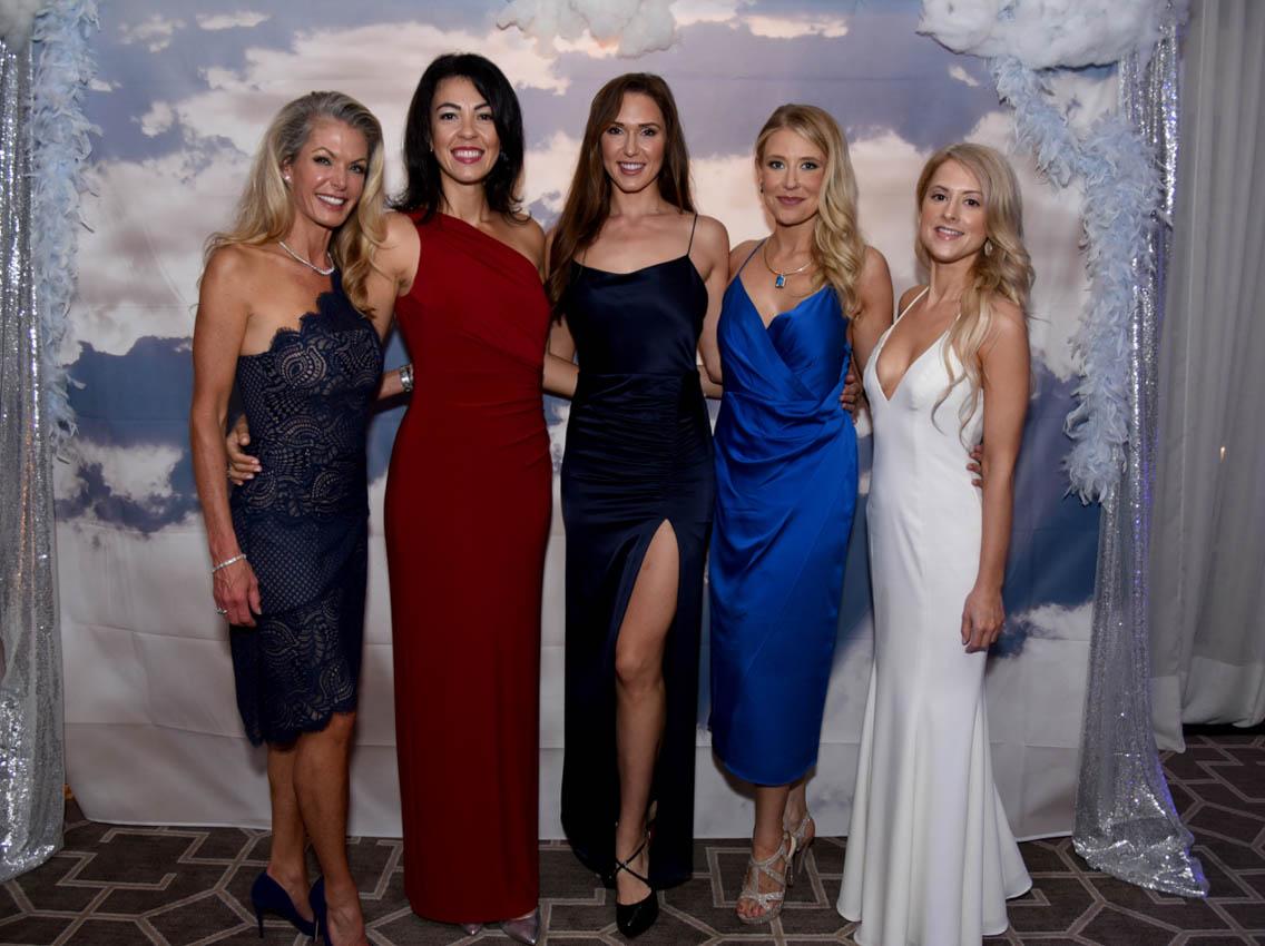 Melissa Luiso, Sarah Bamford, Olga Litvinenko, Alexandra DeBourcy, Antoinette DeLuca