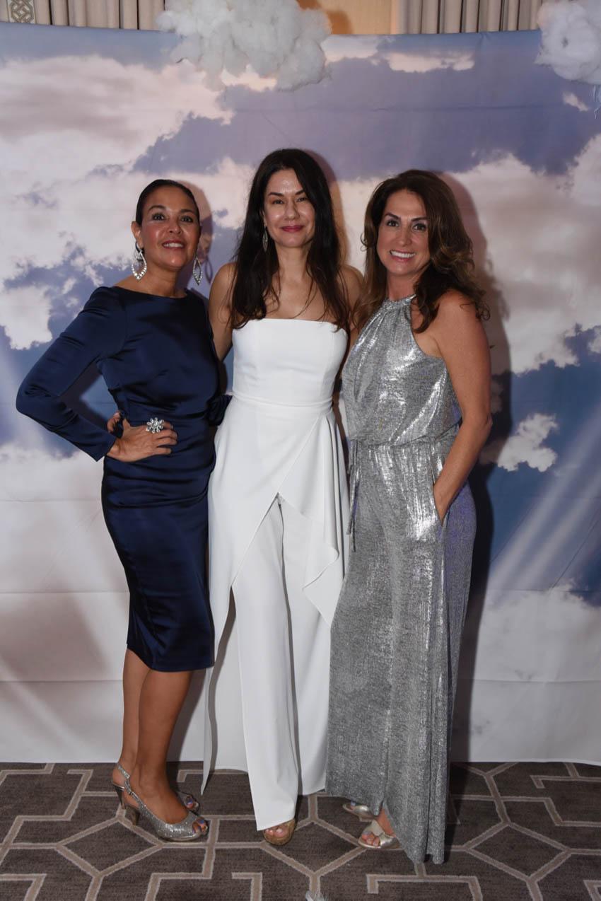 Lily Fiore, Vicky Bonic, Celia Statler