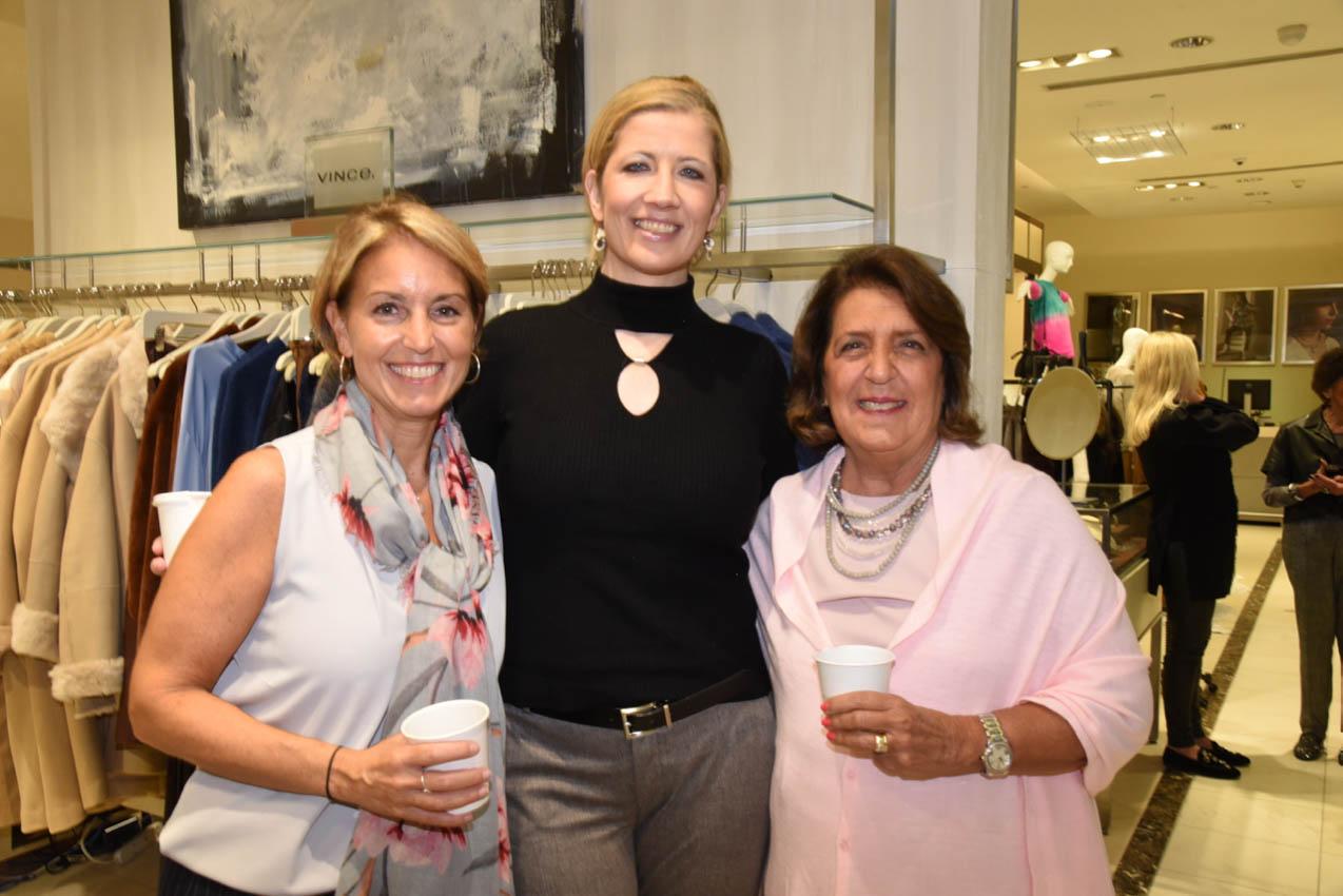 Lynn Carbino,  Carolyn McGuire, Diane Demain