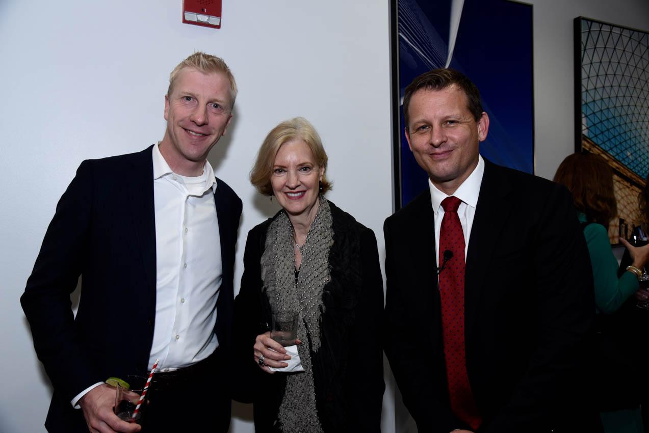 Benoit Ugeux, Michele Stephenson, Skyler Badenoch