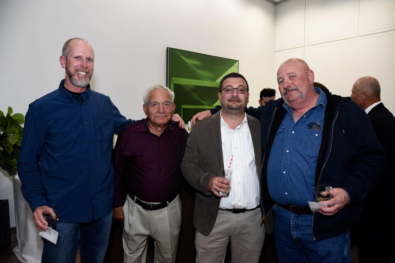 Mike Phillips, Antonio Vitti Sr., Antonio Vitti Jr., Bobby Burns