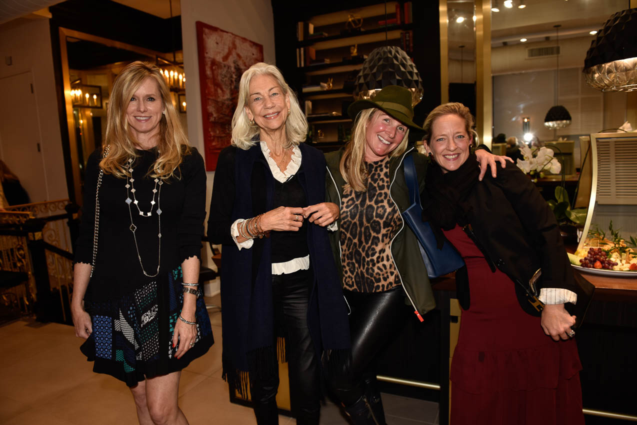 Hilary Haroche, Anne Friday, Liz Anderson, Meg Critchell