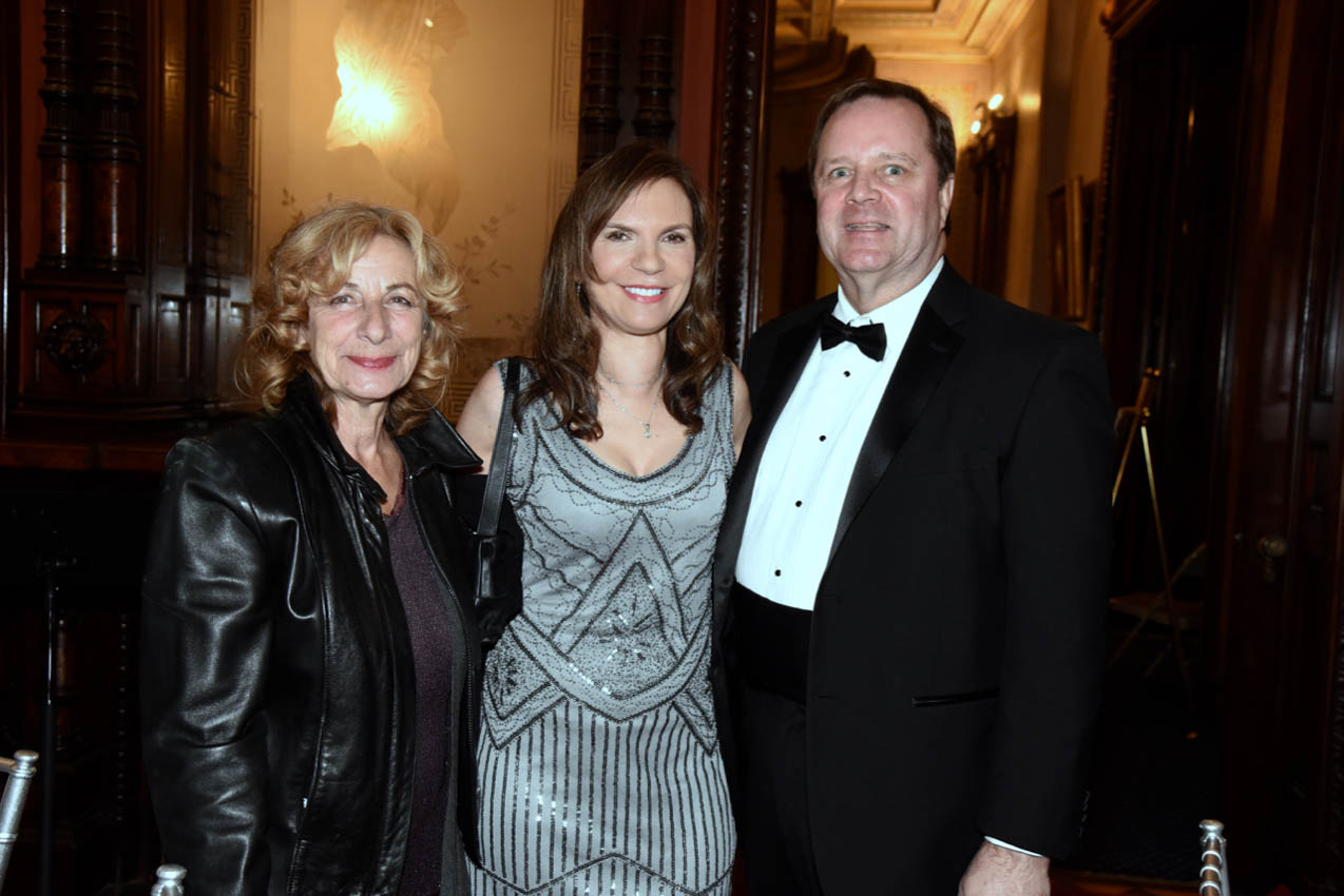 Carol Schweid, Susy Gilgore, Dr. Gavin McLeod