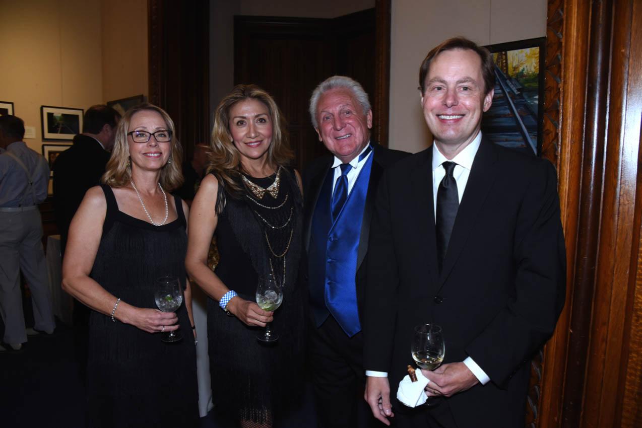 Sandy Whitton, Lucia Rilling, Mayor Harry Rilling, Brett Whitton