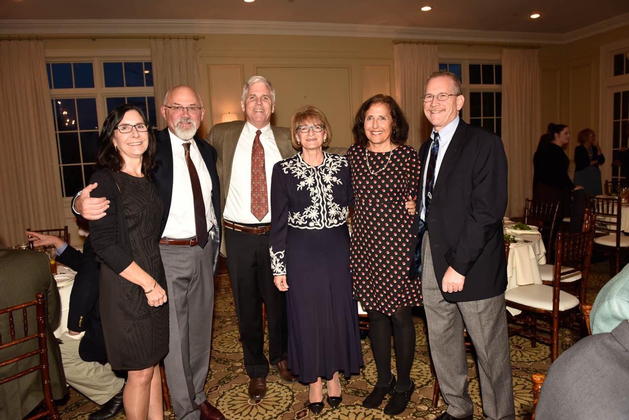 Janet and Greg Sinnott, Barnie Stevenson, Maria Shepard, Diane Stevenson, Jim Shepard