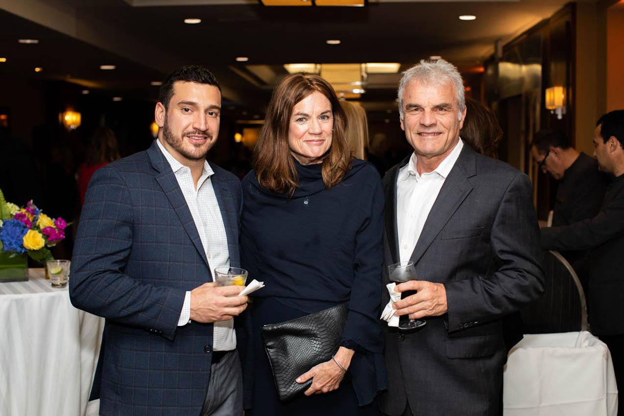 David Claroni, Mary Barker, Paul Barker