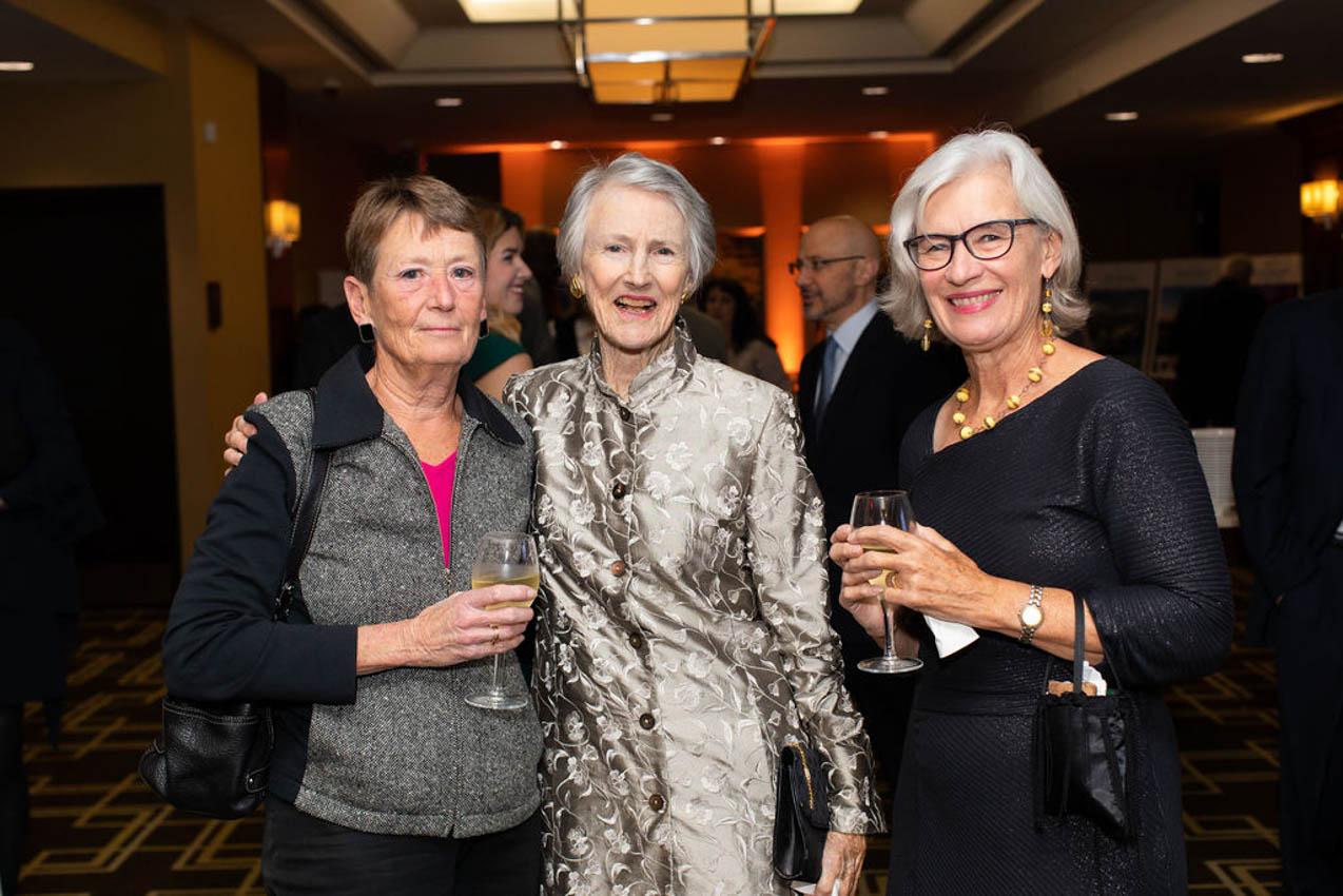 Susan Ferris, Alice Melly, Pat Ferris