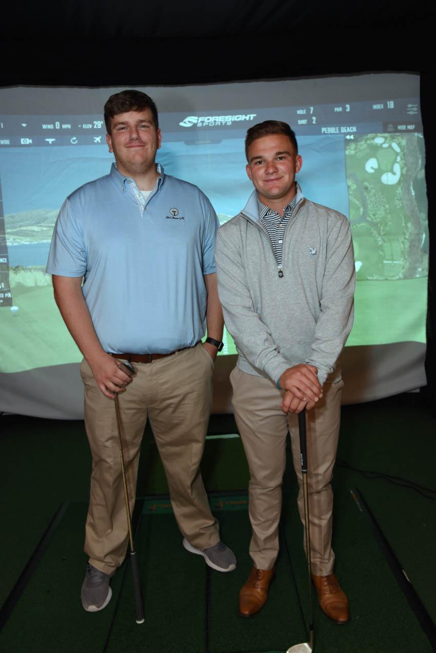 Michael Hunter, Drake Ferriter- Golf Pro Delivered