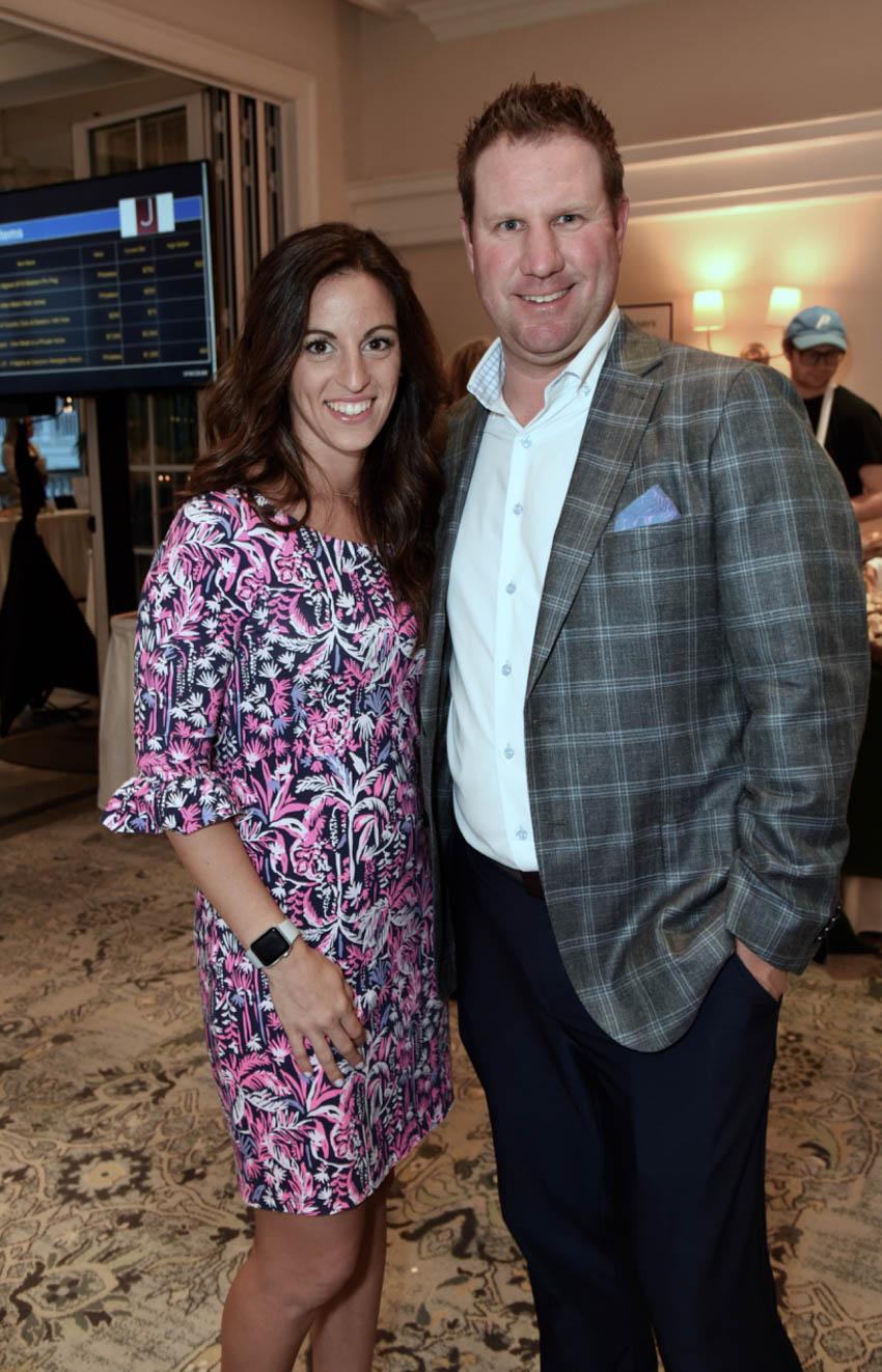 Cory Mulller, Vanessa Muller- Head Golf Pro at Country Club of Darien
