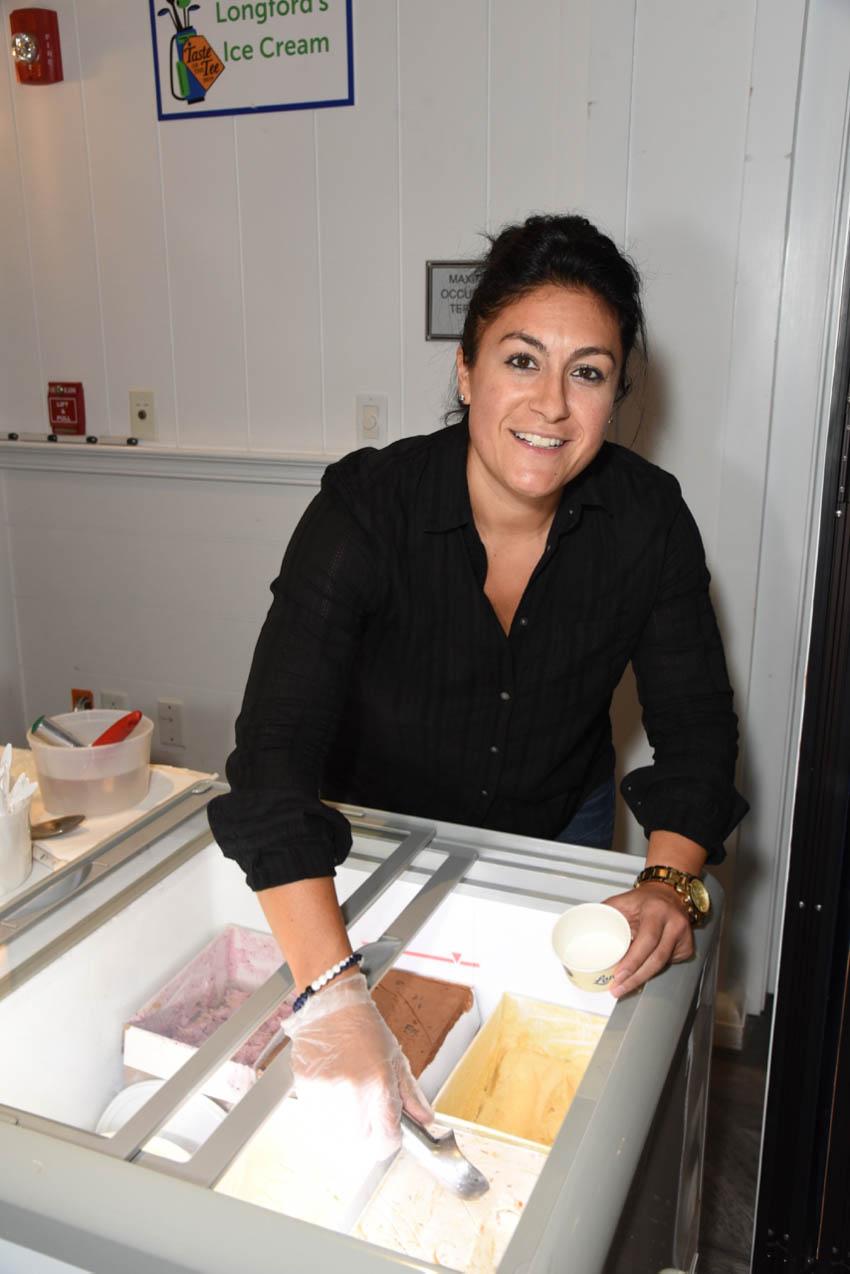 Nicole Benevento- Longford's Ice Cream