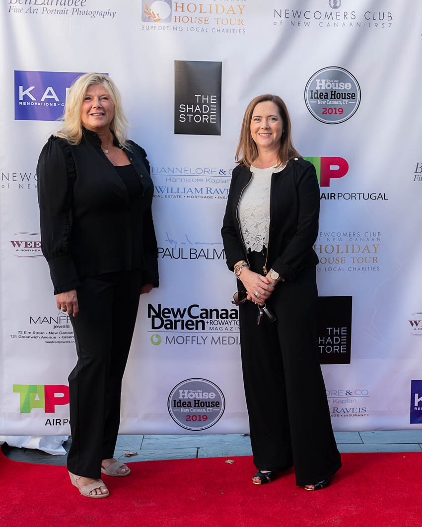 Hannelore Kaplan (Platinum Sponsor) and Wendy Werneburg of William Raveis